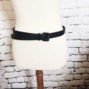 Banana Republic Accessories - BANANA REPUBLIC Black Genuine Leather Belt L